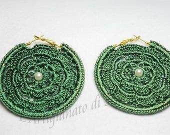Crochet Earrings 1 Pair, handmade lots of models