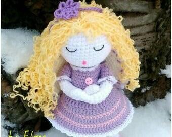 Crochet doll pattern, Crochet doll, Amigurumi Doll, PDF Pattern