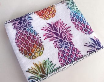 Mason Jar Cuff // RAINBOW PINEAPPLE // Rainbow Pineapple Mason Jar Cuff  // Cuff // Gift