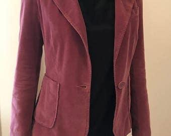 Marc Jacobs Pink Corduroy Blazer