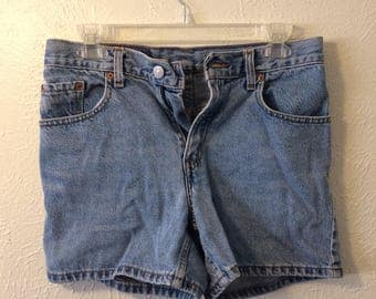 Free Shipping LEVI'S HIGH WAIST Denim Shorts