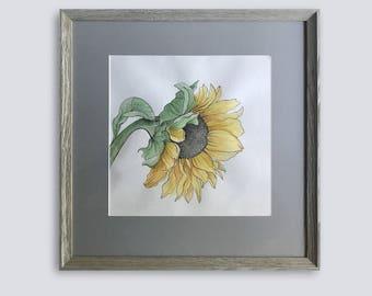 Original watercolor artwork
