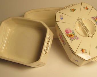 Vintage 3 Tier Stacking Trinket/Jewellry Box