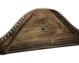 Gusli, Psaltery, Kantele, Kankle, Kokles, Kannel, lyre, Harp.
