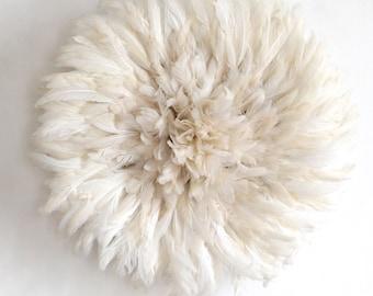 Juju Hat Pure Blanc / Juju Hat Pure White / Feather Hat Pure White / Coiffe Aka Pure Blanche
