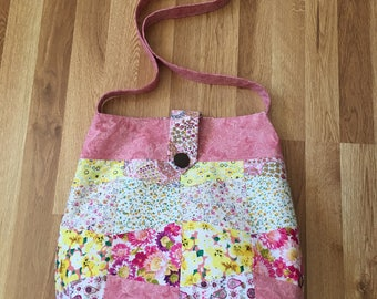 Handmade Large Cloth Tumbler Bag
