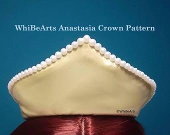PDF Pattern: Anastasia crown