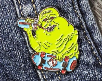Ghostbusters Slimer Soft Enamel Pin!