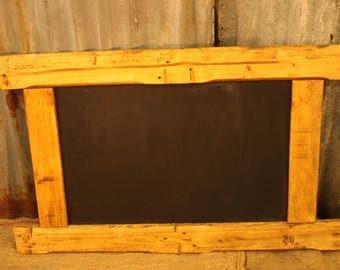 Reclaimed Wood Chalk Board, Large Rustic Chalkboard