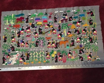 Hill Tribe cloth