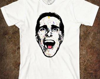 Christian Bale American Psycho Men's Women's T-shirt