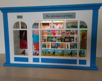 Tintin Bookshop Model Hommage