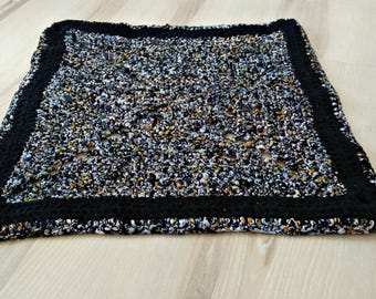 Black rug,Rug,dog cat bed,crochet rug,area rug,braided rug,rainbow rug,carpet for kitchen,nursery,bath Mat,carpets,decorative rug