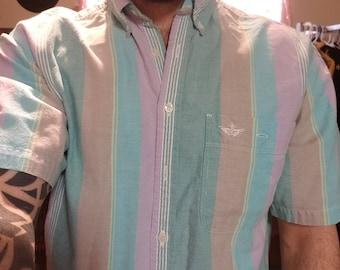 Vintage Dockers Levis' Short Sleeve Shirt Size M
