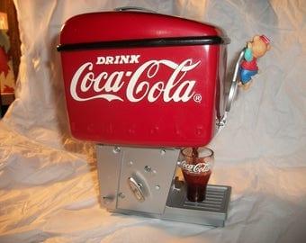 "Vintage Coca-Cola ""Rock Around the Clock"" Music Box"