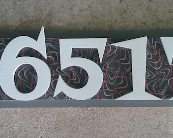 Atomic House Number Sign