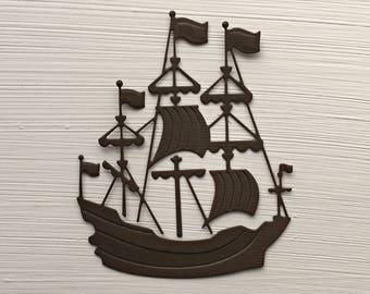 Ship Die Cuts