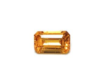 Mandarin Garnet emerald 3X5mm