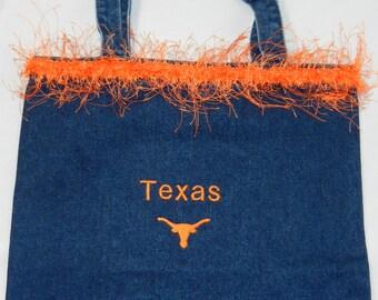 Texas Demin Bag