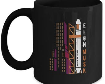 Elon Rocket Mug - Gift