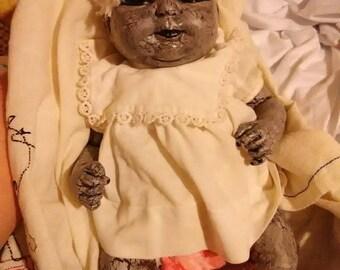 Alternative reborn horror doll