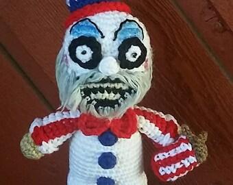 Captain Spaulding Inpsired Crochet Pattern (Pattern Only)