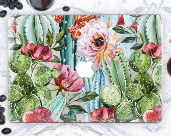 Succulent Macbook Pro 13 2016 Case Macbook 12 inch Case MacBook Air 11 Case MacBook Pro Retina 13 Cactus Case For Macbook Pro 15 Case mcn017
