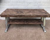 Rustic industrial Tv unit Tv stand using reclaimed wood