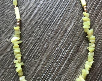 Serpentine Beaded Necklace