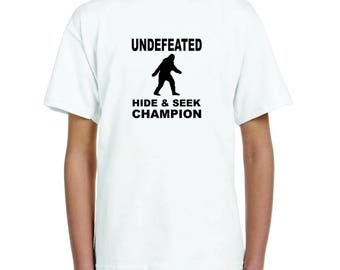 Undefeated Hide & Seek Champion