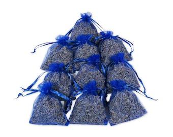 Bridal Favor Lavender Sachets Bags, Wedding & Baby Shower Favor French Fragrant Sachets filler for Aromatherapy, Potpourri - LS001-12