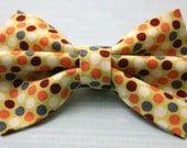 Polka Paws Bow Tie