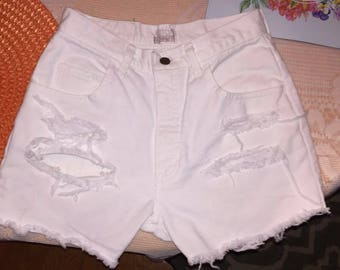 London Jeans Cut Shorts