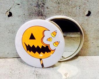 Pumpkin Pop Pocket Mirror