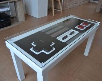Playable NES coffee table