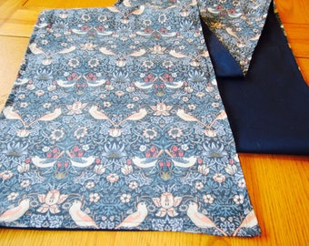 William Morris Strawberry Thief Table runner