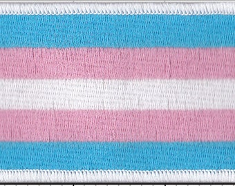 Trans Pride Flag Patch