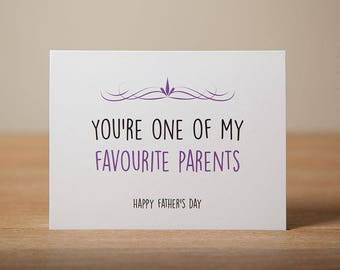 Greeting Card - Father's Day, Love, Parents