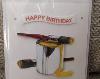 Men's Birthday Card