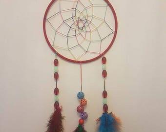 Handmade dreamcatcher Rainbow