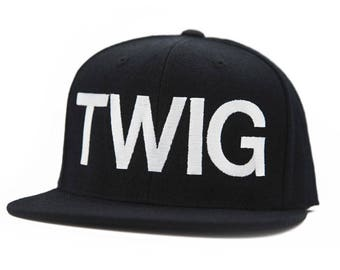 Twig and Boat official adult snap back ball cap hat
