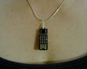Supercapacitor 20 LED earrings / necklace