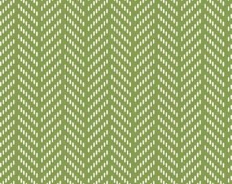 170160 Green Herringbone, Hello Jane by Allison Harris Collection