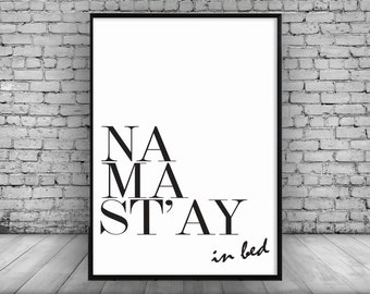Na Ma St'ay;Home Decor;Wall Hanging;Print;Graphic;Art;Poster;Gift;Quote;Typography;A4;Design
