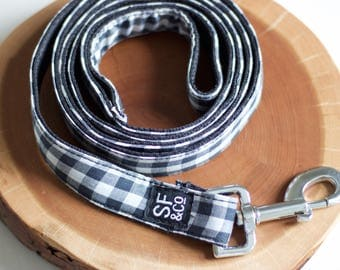 XS/S Gingham Pet Leash
