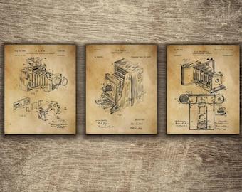 Vintage Camera Decor | Camera Wall Decor | Camera Patent Poster | Camera Wall Print | | Camera Patent Art | Camera Patent INSTANT DOWNLOAD