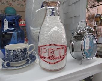 SC GA NC  Pet Dairy Quart Milk Bottle