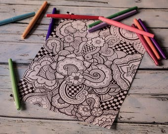 Printable Coloring Page 2