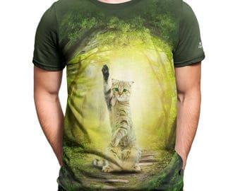 FANTUCCI T-Shirt for Men Hey! Creative Cotton XS - 3XL T-Shirts for Men