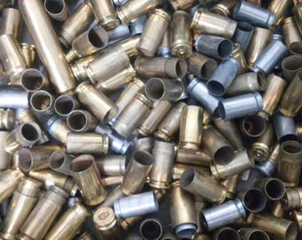 Mixed Lot of 100 Empty Bullet Shell Casings for Crafts and Jewelry Making!